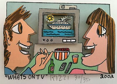 James Rizzi » Whats On TV « Seltenes 3D Mini aus 2002
