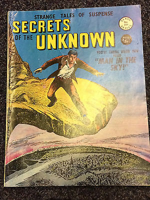Secrets of the Unknown No. 231 Comic Book - Alan Class Series