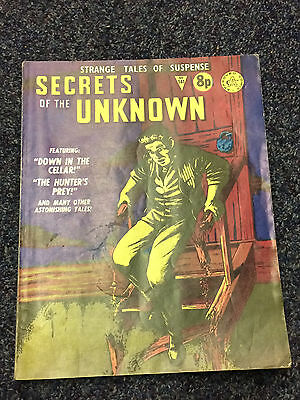 Secrets of the Unknown No. 141 Comic Book - Alan Class Series