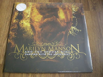 Marilyn Manson - Dancing With The Antichrist Clear Vinyl New Lp Sealed
