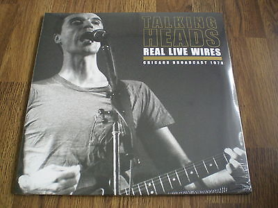 TALKING HEADS - REAL LIVE WIRES CHICAGO BROADCAST 1978 2 x LP NEW SEALED