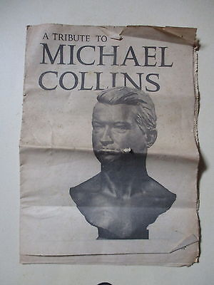 Michael Collins Memorial Foundation Supplement Paper 1966 - Tatty