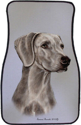 Car Floor Mats Pair - Weimaraner 36057