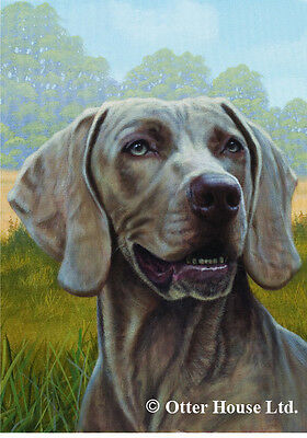 Large Indoor/Outdoor Portrait Flag - Weimaraner (JS) 50057