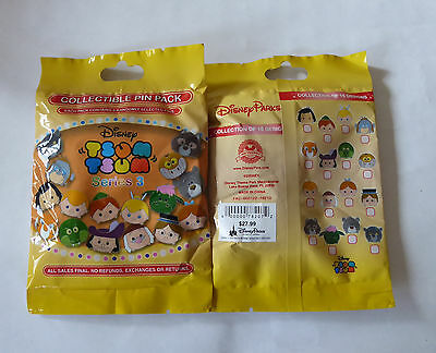 Disney Trading Pins 120430 Tsum Tsum Mystery Pin Pack Series 3