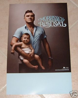 Morrissey poster - Years Of Refusal poster - 11 x 17 inches