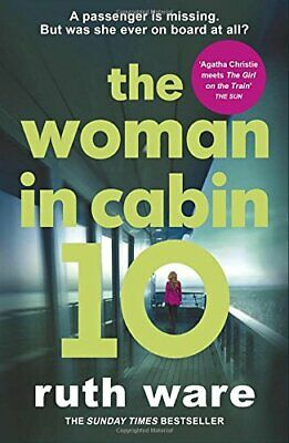 The Woman in Cabin 10 by Ware, Ruth Book The Cheap Fast Free Post