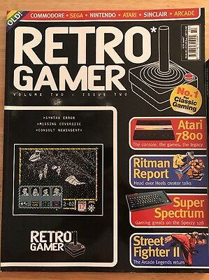 Retro Gamer Magazine Issue 14, Mint Complete With Cover Disc. First Print