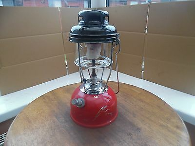 Red Tilley Storm Lamp