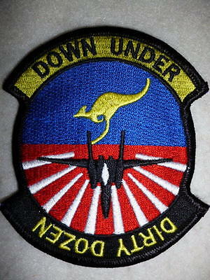 """United States Air Force, F-15, 12th Fighter Squadron """"Dirty Dozen"""" Patch"""