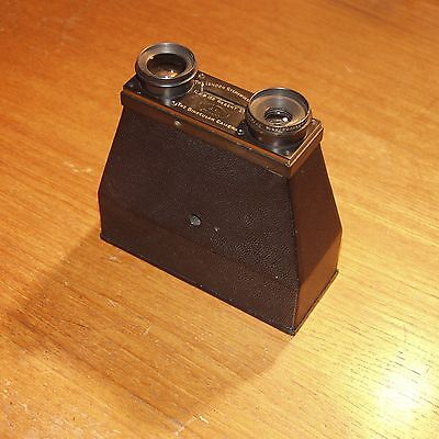 THE BINOCULAR CAMERA  LONDON STEREOSCOPIC CO. Regent St LONDON made in FRANCE