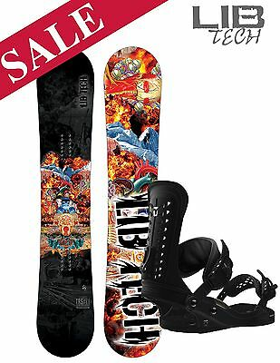 2017 Lib Tech TRS & Union Force Binding Snowboard Package 157cm SAVE £165