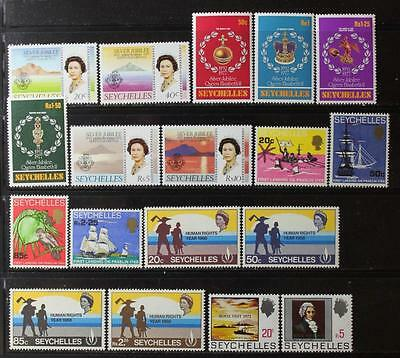 Seychelles Collection, MNH OG, All Different & Never Hinged