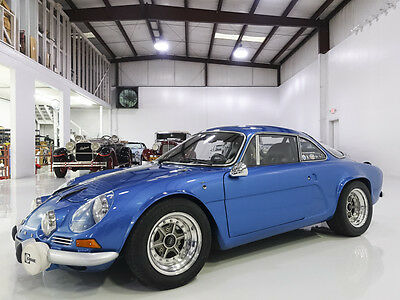 1969 Renault Other Alpine A110 Dinalpin, Multi championship winner! 1969 Alpine-Renault A110 Dinalpin, Magnificent condition, Long-term ownership