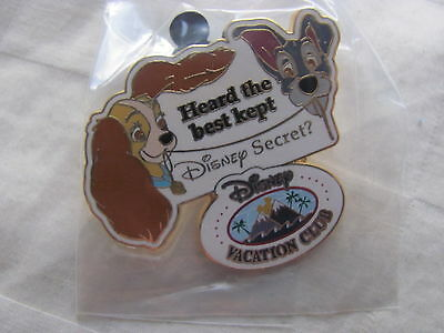 Disney Trading Pins 57291 DCL - Disney Vacation Club - Lady & Tramp