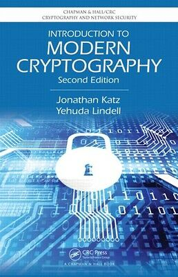 Introduction to Modern Cryptography, Second Edition (Chapman & Hall/CRC Cryptog.