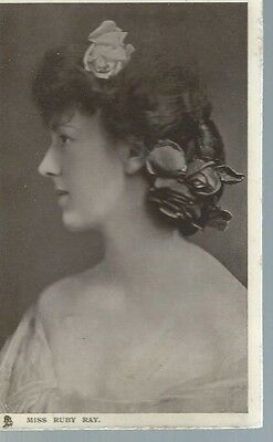 Mis Ruby Ray,tuck,celebrities Of The Stage,5717,postcard,1906