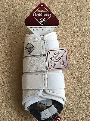 Lemieux Pro Sport Micro Pore Brushing Boots White XL