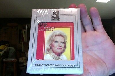Patti Page- A Touch of Country- new/sealed 8 Track tape- rare?