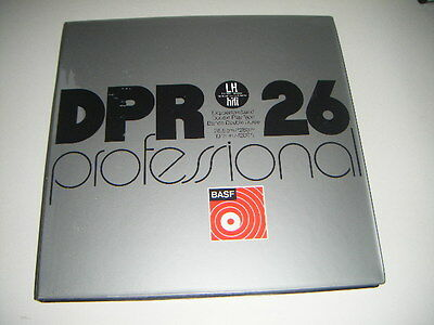BASF DPR 26 LH Professional REEL TO REEL TAPE