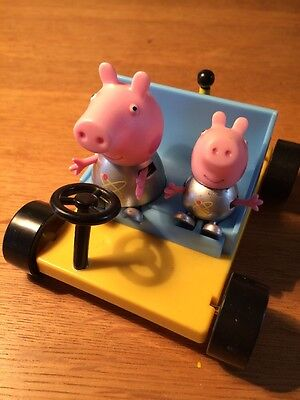 Peppa Pig And George And Space Buggy