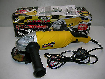 Clarke Contractor Professional 115mm Angle Grinder.