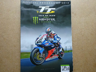 Isle Of Man Tt Official Programme 2012, In Excellent Condition.