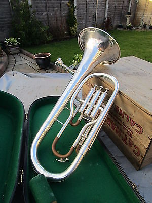 Lafleur imported by Boosey & Hawkes Tenor Horn & hard case well used condition