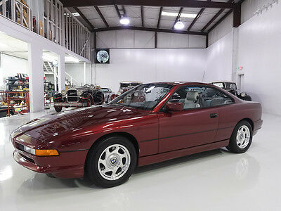 1991 BMW 8-Series  850i Coupe, Top-of-the-line Model! Low Miles!! 1991 BMW 850i Coupe, Includes service records from new, Stunning!!