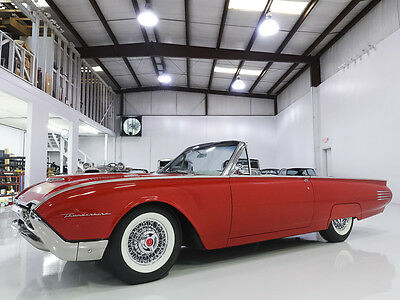 1961 Ford Thunderbird Convertible,  59,000 miles! Beautifully restored 1961 Ford Thunderbird Convertible, Long-term ownership, Includes Documentation!