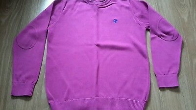 Boys pink Next jumper age 9 years