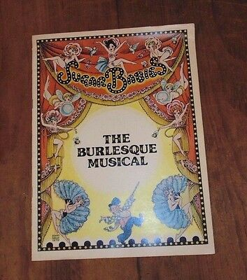 Vintage Sugar Babies Program  The Burlesque Musical  Mickey Rooney & Ann Miller