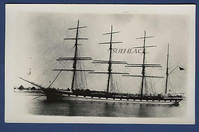 4 Masted Barque Robert Duncan Port Glasgow William T Lewis Tow Barge Fireboard