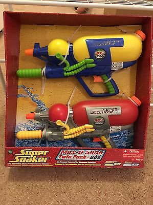 Supersoakers Twin Set Brand New