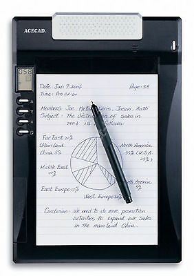ACECAD DigiMemo A501, DIN A5, USB, DigiPen, digitale Block notes #a488