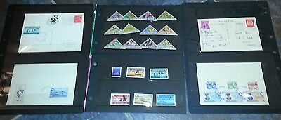 Herm,  Selection Stamps And Covers