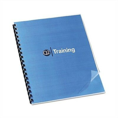 GBC Office Products Clear View Presentation Binding System Cover, 11 x 8-1/2,