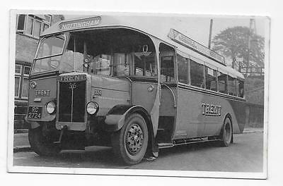 Trent Motor Traction Bus To Nottingham, Single Deck, Rp.