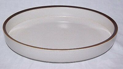 Denby Potters Wheel Oval Open Roaster Serving Dish Rust Red Retro Bowl