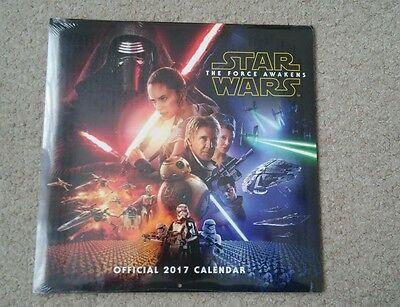 Star Wars Official Calender 2017