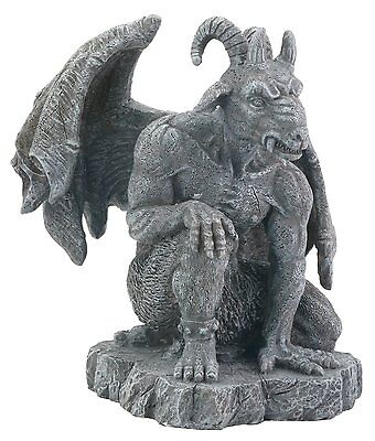 The Guardian Goat Headed Gargoyle Medieval Statue Figurine Decoration New