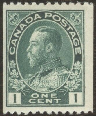 Stamps Canada # 131, 1¢, 1912, lot of 1 MNH stamp.