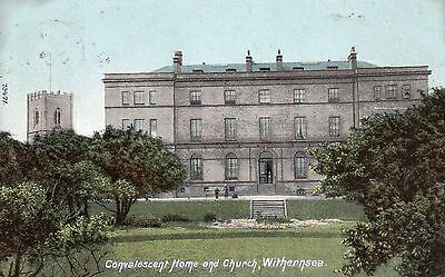 Yorkshire - Withernsea - Convalescent Home & Church