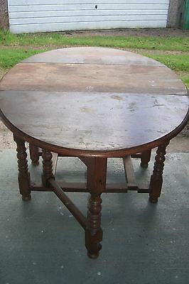Bevan Funnell Reprodux  Large Solid Oak Dining Table