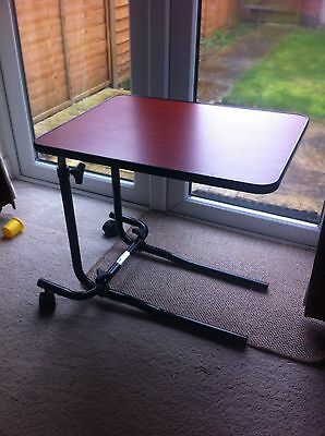 Over chair Table. NRS Healthcare.