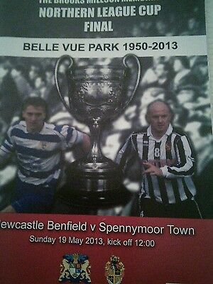 Newcastle Benfield V Spennymoor Town League Cup Final  2012/13