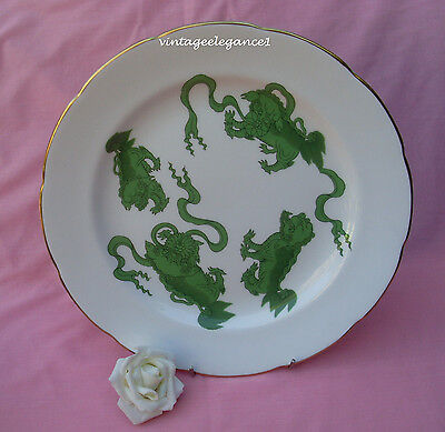 2 X Wedgwood Chinese Tigers - Dinner Plate - Williamsburg Foundation