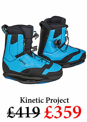NEW 2016 Ronix Kinetic Project Bindings Blue UK 9 US 10 RRP £419 SAVE £££
