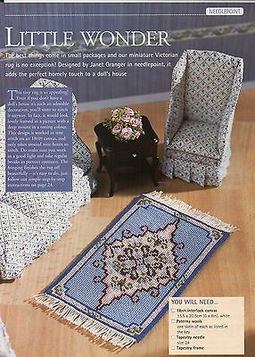 Needlepoint/Tapestry chart for dolls house rug