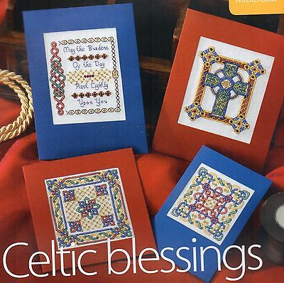 Celtic cards. Embroidery charts.Designer Yvonne Horn